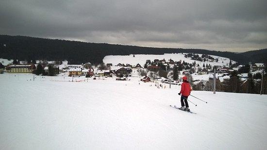 Ski Kvilda - skiing slope