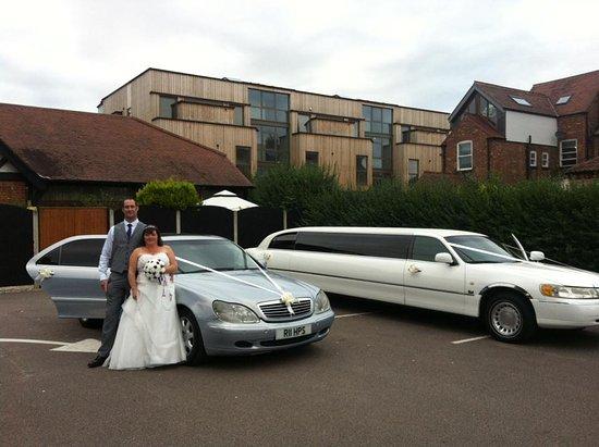 Premier Limos: Wedding at Welbeck hall