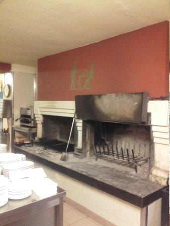 Camino e cucina - Picture of De Gobbi, Creazzo - TripAdvisor