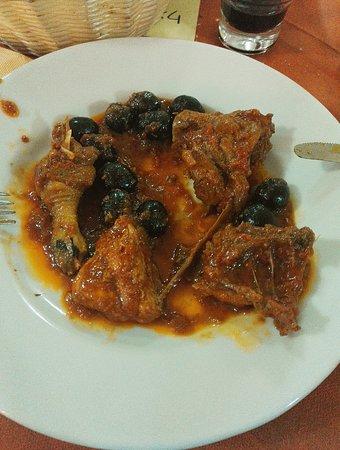 Castel Del Piano, Italien: fagiano in umido