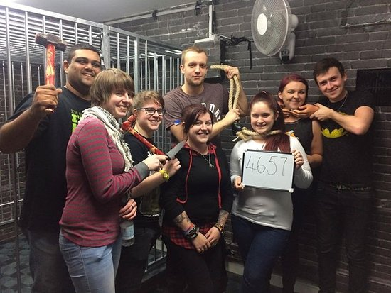 We escaped JUST in time! - Picture of The Panic Room, Gravesend ...