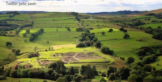 Hexham, UK: Vindolanda through the seasons