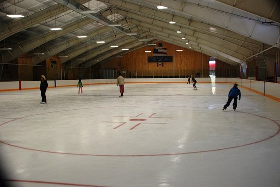 Waterville Valley, NH: Home ice!