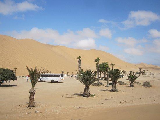 Walvis Bay, Namibia: Dune 7 car park
