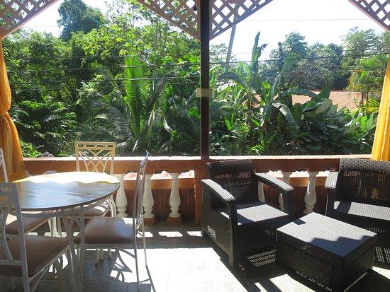 Hotel Villabosque: loved the balcony