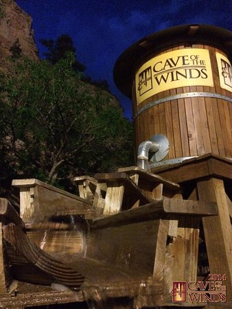 Manitou Springs, CO : Cave of the Winds Mountain Park