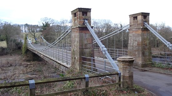 Barnard Castle, UK: Whorlton Bridge
