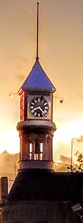 Columbus, WI: The City Hall Clocktower is magnificent