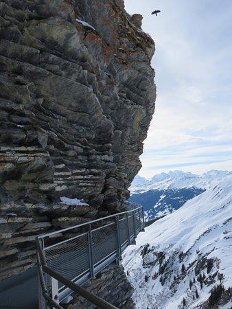Grindelwald, Sveits: First cliff walk