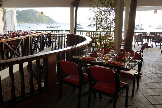 Quito's Gazebo : Upstairs @ Quito's offers beach chic fine dining!
