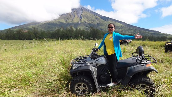 Bicol Region, Philippinen: Green Lava - ATV ride to Mayon Volcano