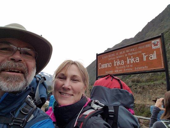 Llama Path Photo