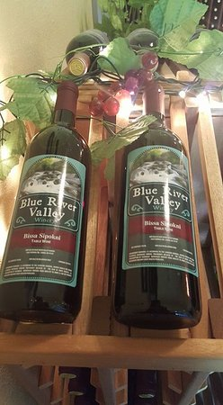 """Caddo, OK: Bissa Sipokni - Elderberry Wine (Bissa in Choctaw means - """"Berry"""" and Sipokni is """"Old"""""""