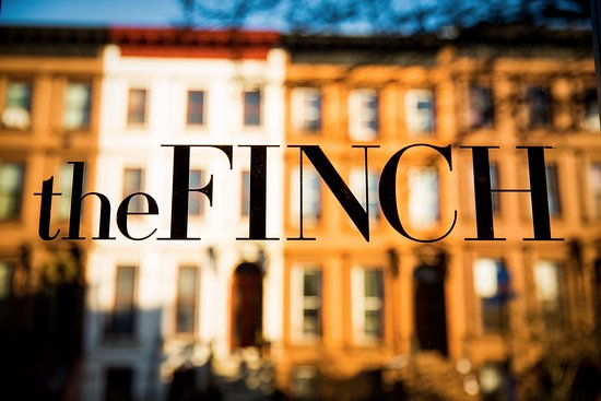 The Finch front door reflecting Brooklyn NY brownstones & The Finch front door reflecting Brooklyn NY brownstones - Picture ...