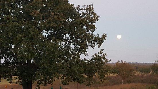 Caddo, OK: Evening view of Blue River Valley near Durant, OK