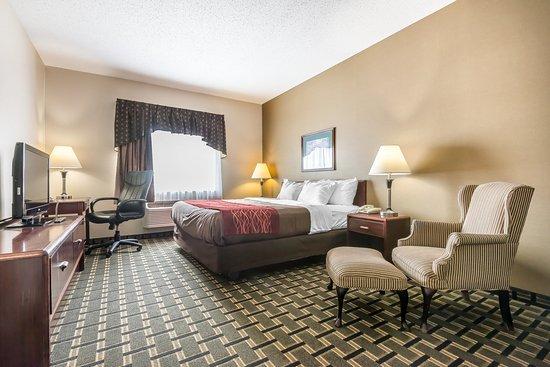 Batavia, Estado de Nueva York: King suite
