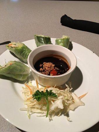 Dsasumo: Tofu Salad Rolls (2 eaten already :)