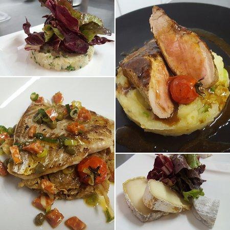 Mazan, ฝรั่งเศส: Menu du déjeuner