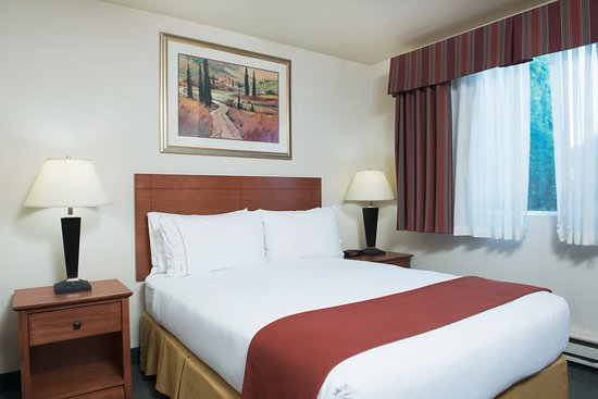 Holiday Inn Express Hotel & Suites Burlington: ADA/Handicapped Accessible Queen Bed Guest Room