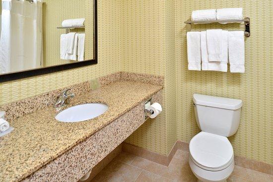 Charlotte, Мичиган: Guest Bathroom