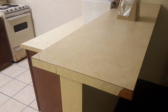 laminate kitchen countertop premium the valencia carnival depot compressed b winer in edge n with and home bay hampton finish quarry countertops kit winter