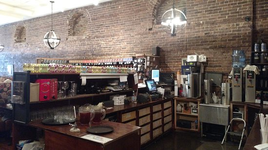 Ballston Spa, NY: Coffee Take out bar 2