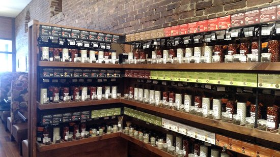 Ballston Spa, NY: Extensive Tea and Coffee selection