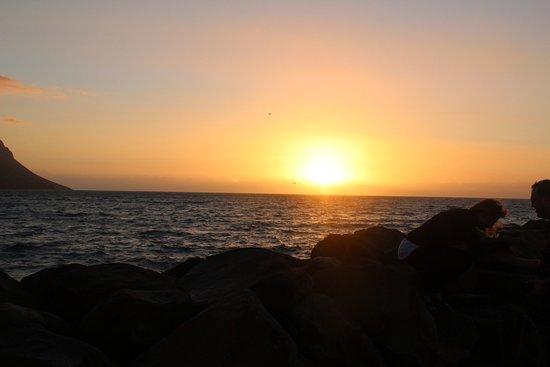 Гордонз-Бей, Южная Африка: abendliche Stimmung