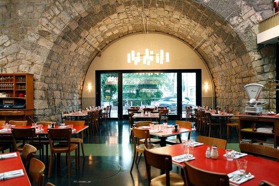 Restaurant Markthalle Zurich Limmatstrasse 231 Gewerbeschule Menu Prices Tripadvisor