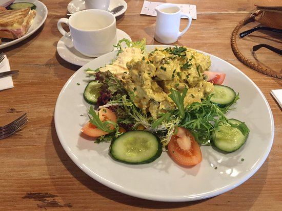Coronation chicken salad - Picture of Whiterow Fish And ...