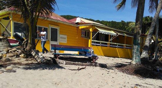 Iles des Saintes, Guadalupe: La Belle Etoile sur la plage de la Grande Ance, Terre de Bas, Les Saintes