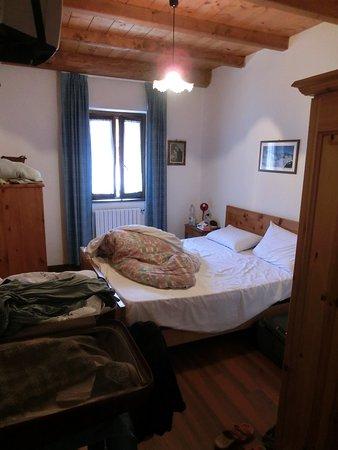 Locanda Pian del Lupo: unser kleines Zimmer in der ersten Etage