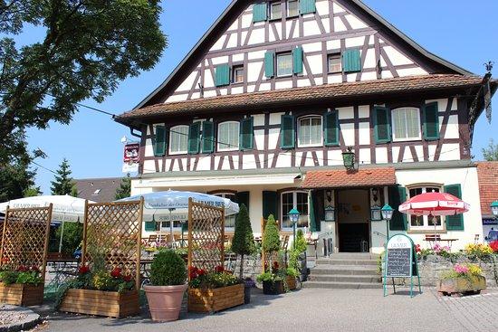 Achern, Alemania: Speiselokal zum Wagen