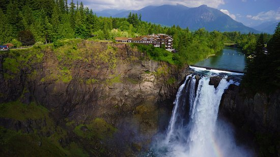 Salish Lodge & Spa: Spectacular Snoqualmie Falls