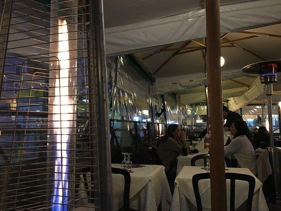 Ristorante Pizzeria Imperiale: heated tent