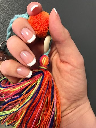 Senza : French manicure