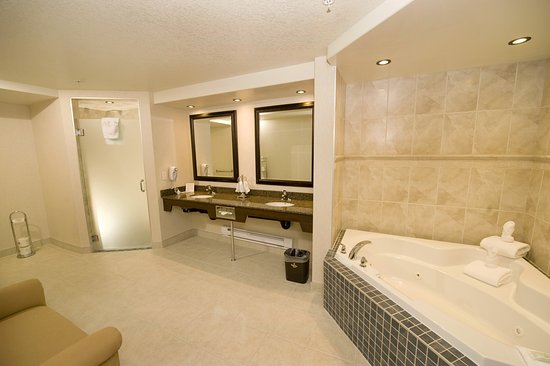 Holiday Inn Hotel Suites West Edmonton King Bed Jacuzzi Suite Pull Out Sofa