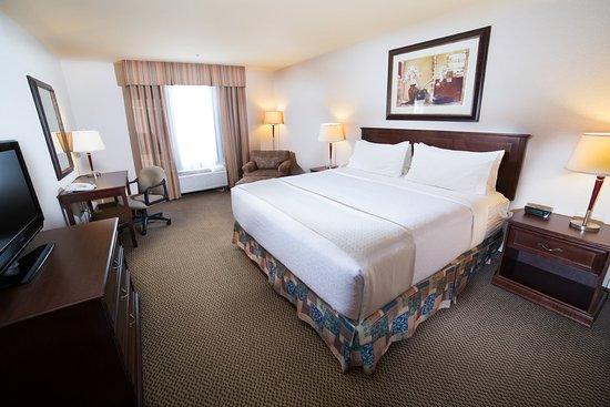 Holiday Inn Hotel & Suites West Edmonton : King Bed Guest Room