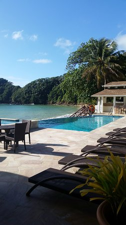 Speyside, Tobago: Pool area