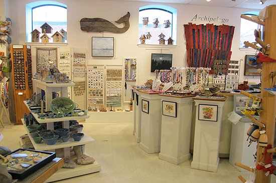 Rockland, ME: Inside the shop!