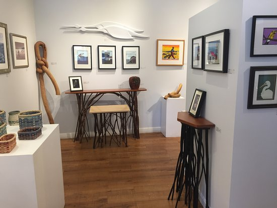 Rockland, ME: Inside the Gallery.