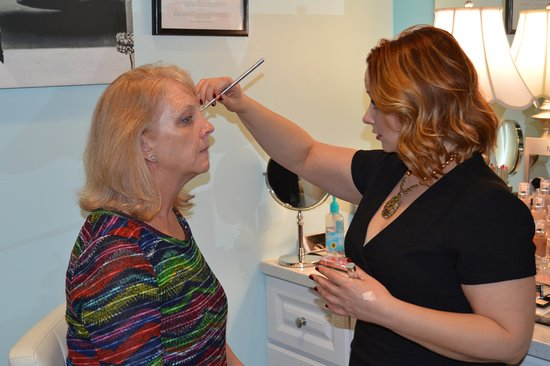 Litchfield Park, AZ: We offer professional make up services and complimentary make up touch ups with your facial serv