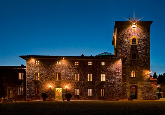 Vagliagli, Italy: Exterior By Night
