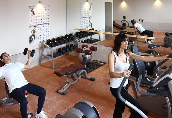 Vagliagli, إيطاليا: Fitness Center