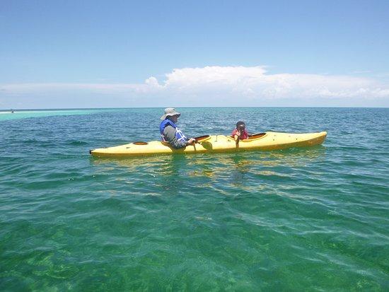 Punta Gorda, Belize: Sea kayaking