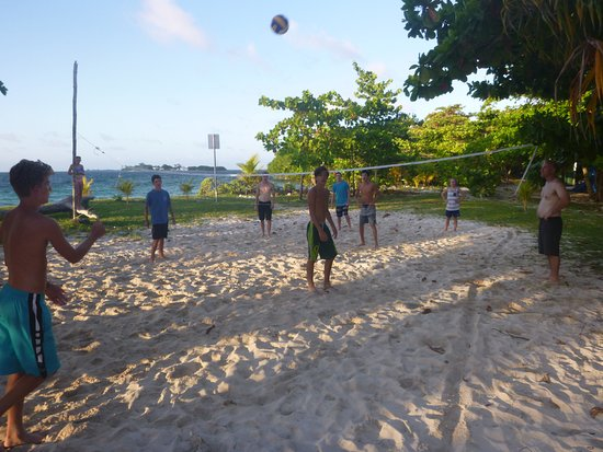 Punta Gorda, Belize: volleyball on Lime