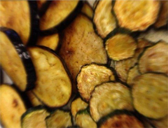 piu trattoria & espresso bar: melanzane e zucchine
