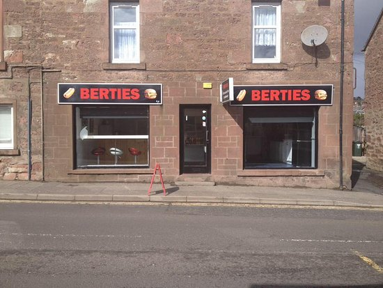 Berties Take Away   Blairgowrie