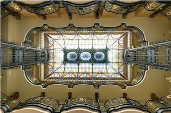 Gran Hotel Ciudad de Mexico: Stained Glass Ceiling