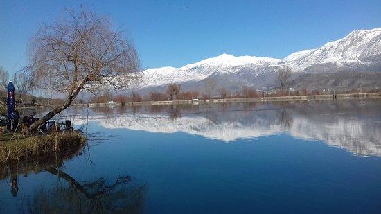 Nature&joy: Viroi lake in Gjirokastra